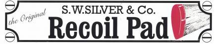 S.W. Silver & Co. - Recoil-Pads - Safari Schaftkappen Rot / Orange
