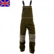 Nomad UK - Jagdhose - Salopette - Stealth Green