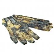 X-Jagd - Camo-Jagdhandschuh - Net Gloves M