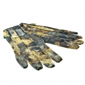 X-Jagd - Camo-Jagdhandschuh - Net Gloves L
