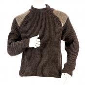 Niffi - Gamekeeper Brown - Heavy Weight - Schurwoll-Pullover - Harris Tweed