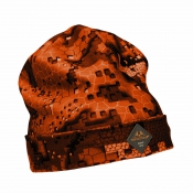Swedteam - Blaze-Camo - Signal-Jagd-Cap - Beanie Ridge Fire