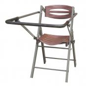 Ansitzstuhl aus Aluminium - mit Gewehrauflage