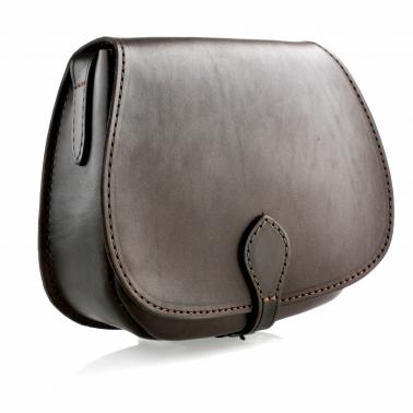 Jagdtasche aus kräftigem Rindleder Größe M
