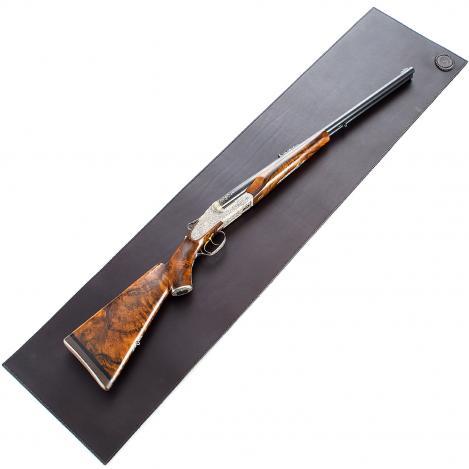 Paul & Kloosterhuis - Gun Cleaning Mat - Leather / Felt - Dark Brown
