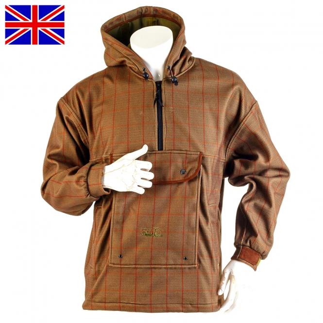 Nomad UK - Jagdanorak - Stealth Tweed - Hooded Quadrider Smock M