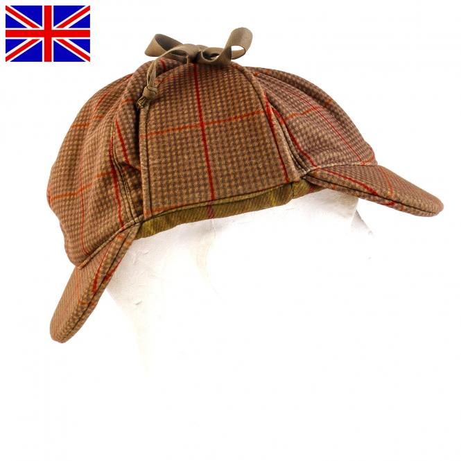 Nomad UK - Jagdhut - Stealth Tweed - Deerstalker Cap