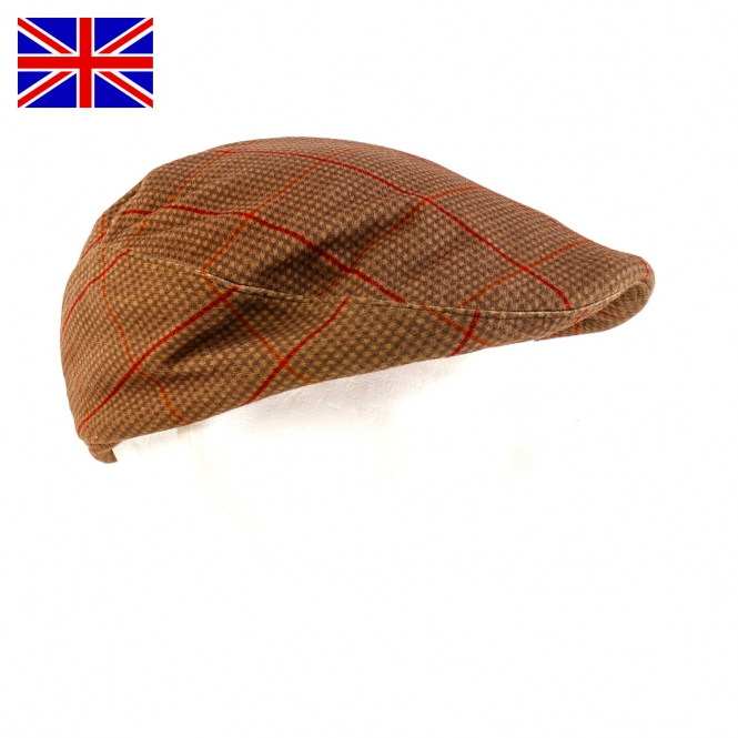 Nomad UK - Jagdcap - Stealth Tweed - Gameshooter Cap