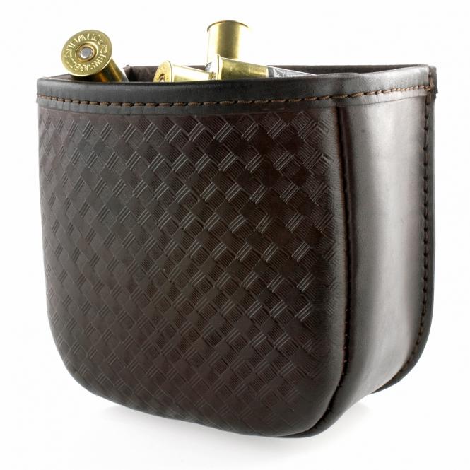 Patronentasche Leder - Schrot