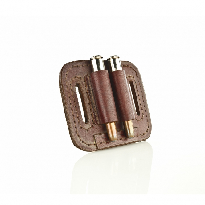 Paul & Kloosterhuis - Big-Game - Custom - Patronengurt - 2 x Round Bullet