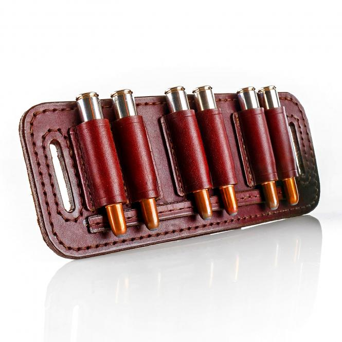 Paul & Kloosterhuis - Big-Game - Custom - Patronengurt - Side-By-Side - 6 x Bullet