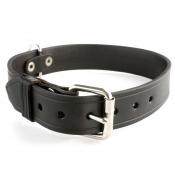 Hundehalsband - Leder 35cm