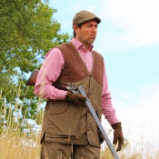 Nomad UK - Jagdweste - Stealth Tweed - Shooting-Vest