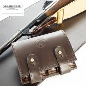 Paul & Kloosterhuis - Safari-Patronenetui - 5 Rd. Bullet-Ammunition Wallet