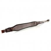 Gewehrriemen - Leder - 4,5cm - Daumenschlaufe