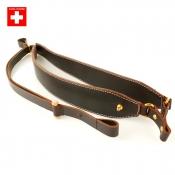 Rucksack-Gewehrriemen - Leder - Swiss Made