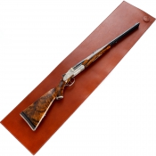 Paul & Kloosterhuis - Gun Cleaning Mat - Leather / Felt - Mid Brown