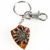 Schlüsselanhänger - Motiv: Edelweiß