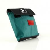 Nachsuchen - Markierungsband - rot mit Spender-Tasche