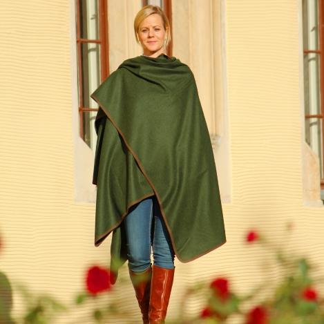 Loden-Plaid - grün - Premium Merino Loden - Paul & Kloosterhuis