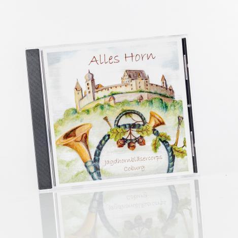 Jagd-Musik-CD - Alles Horn - Jagdhornbläser Coburg