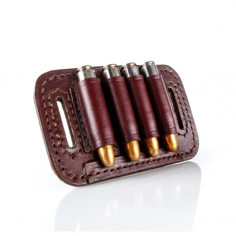 Paul & Kloosterhuis - Big-Game - Custom - Patronengurt - 4 x Round Bullet