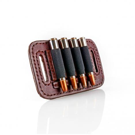 Paul & Kloosterhuis - Big-Game - Custom - Patronengurt - Strap - 4 x Round Bullet