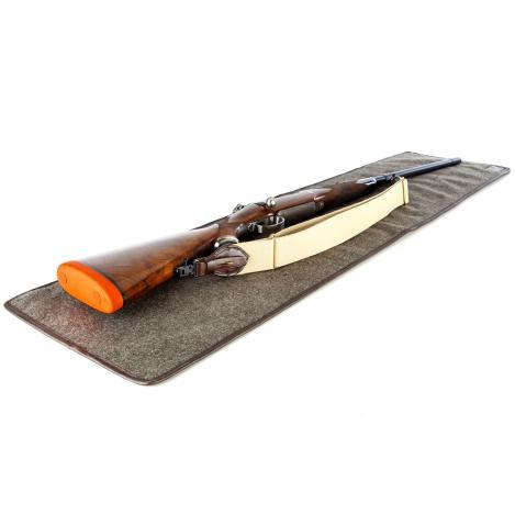 Paul & Kloosterhuis - Loden-Waffen-Unterlage - Gun Cleaning Mat - Loden/Leder