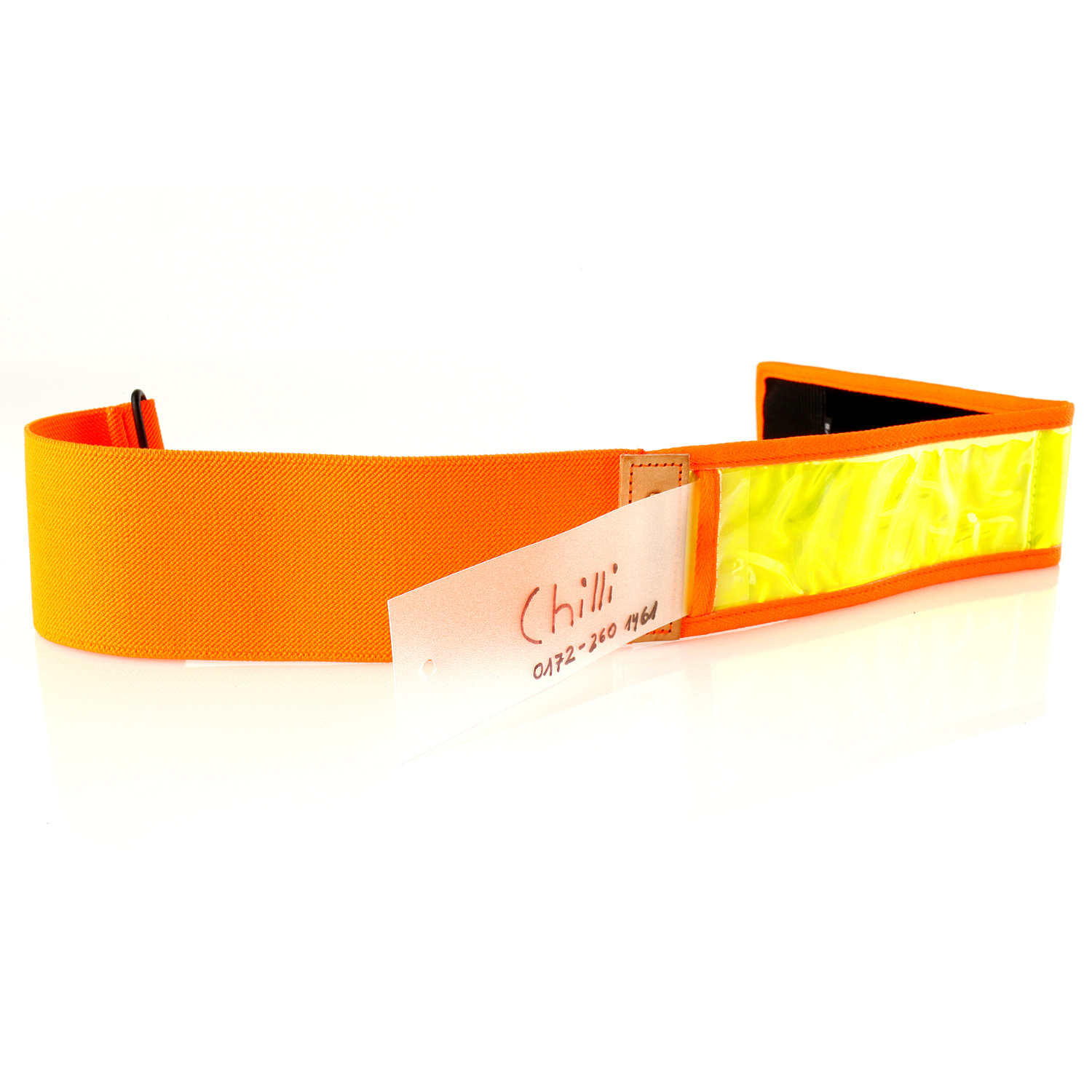 Orange Hunting Dog Collar